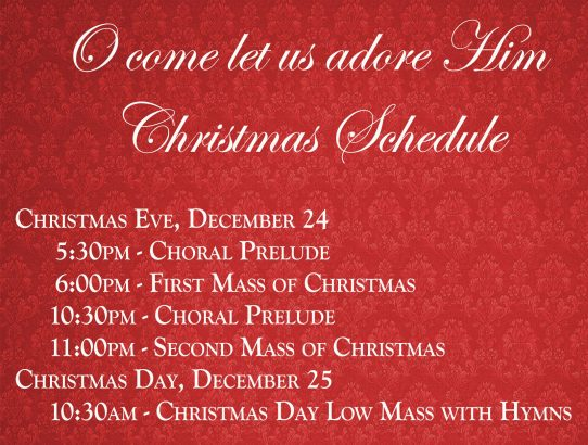 Join us for Christmas